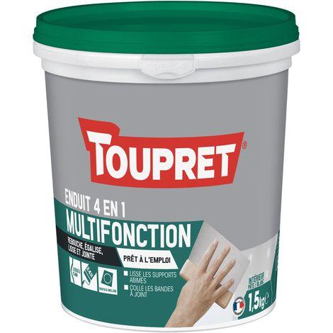 Toupret Enduit multifonction 4 en 1 pâte 1,5 kg