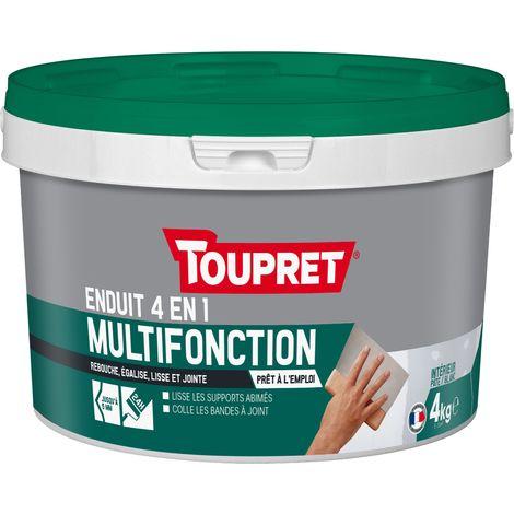 Toupret Enduit multifonction 4 en 1 pâte 4 kg