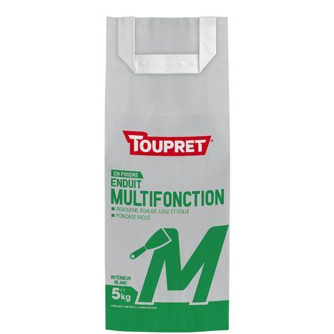 Toupret Enduit multifonction M poudre 5 kg