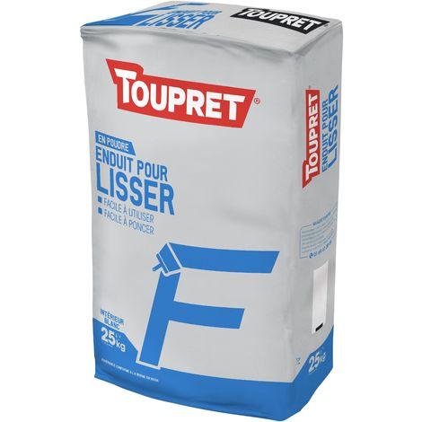 Toupret Enduit pour lisser F 25 kg