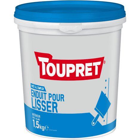Toupret Enduit pour lisser pâte pot 1,5 kg