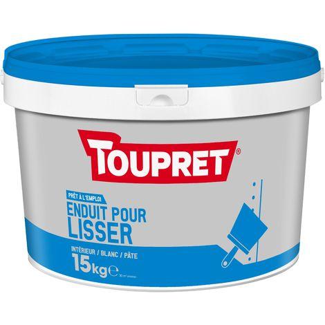 Toupret Enduit pour lisser pâte pot 15 kg