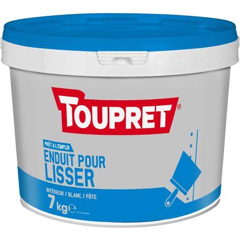 Toupret Enduit pour lisser pâte pot 7 kg