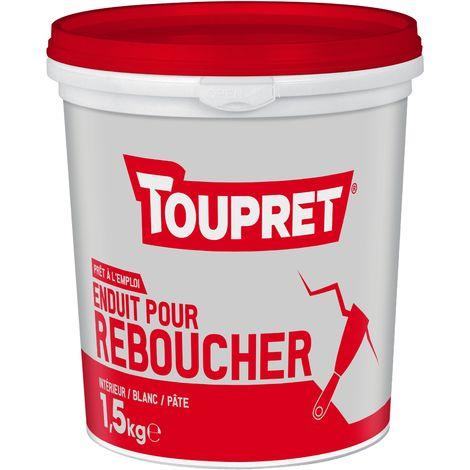 Toupret Enduit pour reboucher pâte pot 1,5 kg