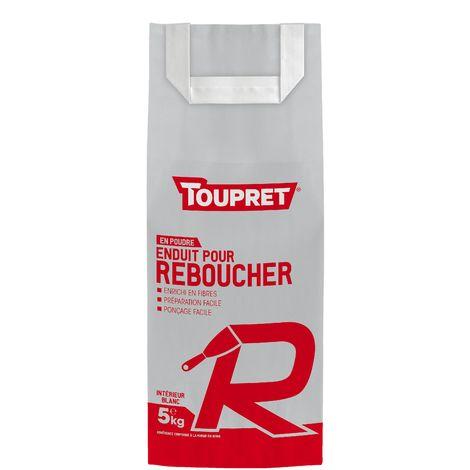 Toupret Enduit pour reboucher R poudre 5 kg