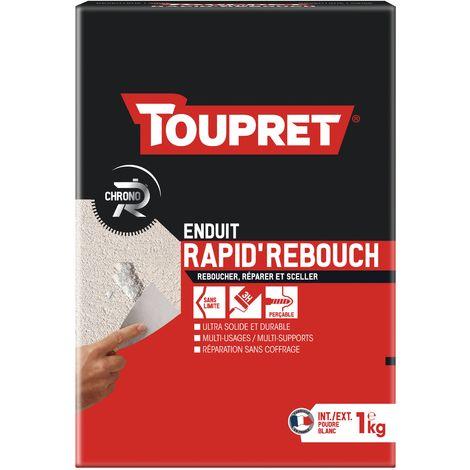 Toupret enduit Rapid'Rebouch poudre 1kg