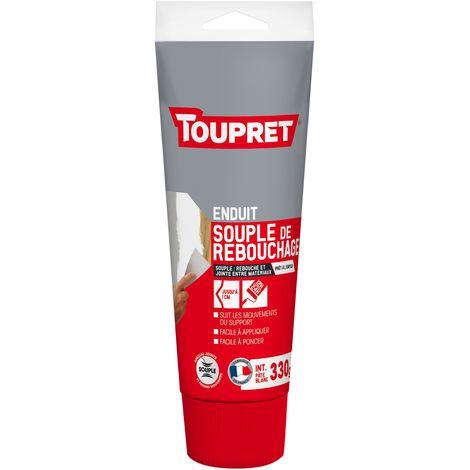 Toupret Enduit souple de rebouchage tube 330 gr