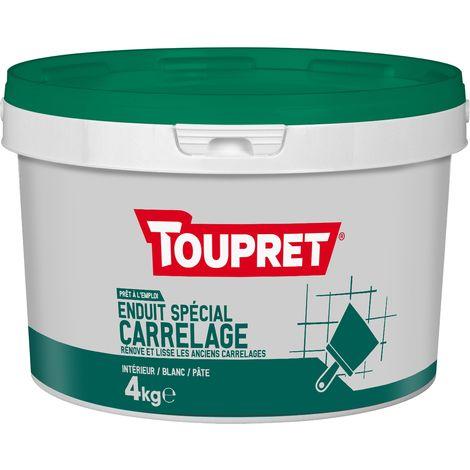 Toupret Enduit spécial carrelage pâte pot 4 kg