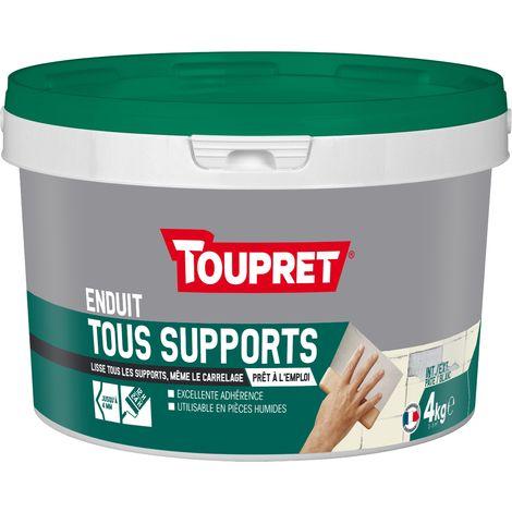 Toupret Enduit tous supports 3 en 1 pot 4 kg
