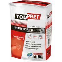 Toupret Interior Filler Le Reboucheur 5kg