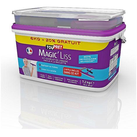 Toupret Magic Liss Kit 6kg + 20% gratuit Avec Outils Inclus