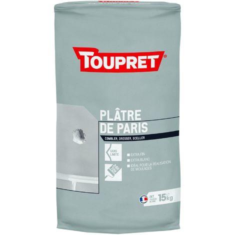 Toupret Plâtre de Paris en sac de 15kg