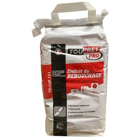 TOUPRET Pro Enduit de rebouchage 5kgs -