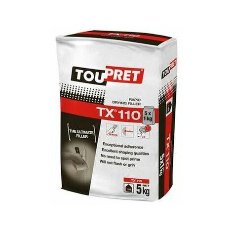 Toupret REB9051GB TX® 110 Rapid Drying Filler 5kg