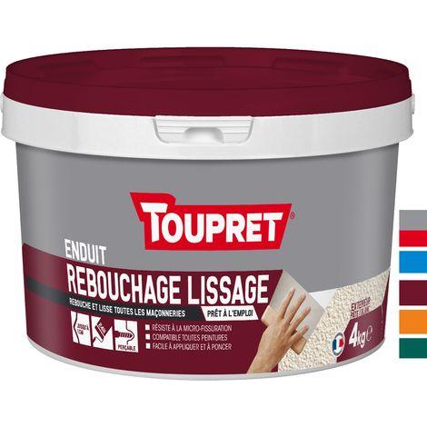 Toupret Rebouchage lissage 2 en 1 pot de 4 kg