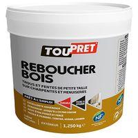 TOUPRET Reboucher Bois 1,250kgs Chêne naturel -