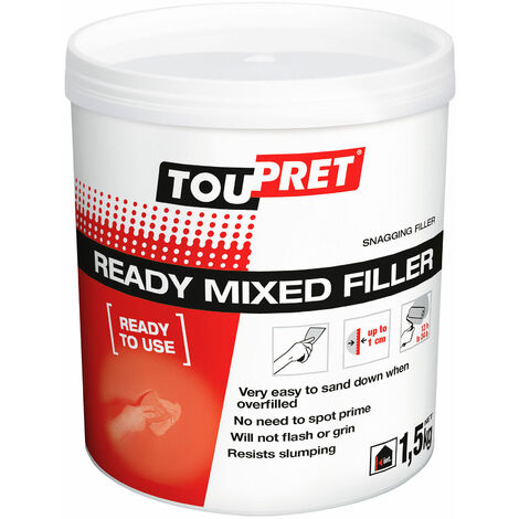 Toupret RP01.5GB Ready Mixed Filler 1.5kg
