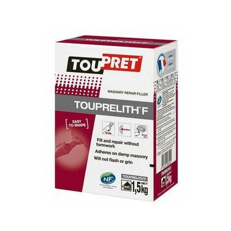 Toupret THR01.5GB TOUPRELITH® F Masonry Repair Filler 1.5kg