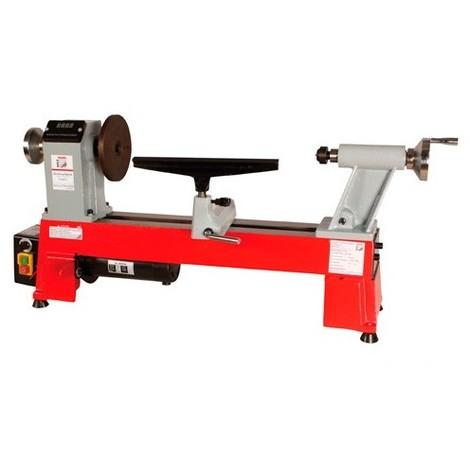Tour à bois avec variateur et affichage digital L. 460 mm 230 V - 550 W D460FXL-230V - Holzmann - -