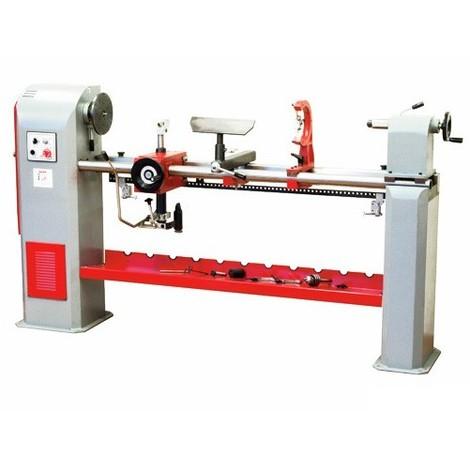 Tour à bois + copieur L. 1300 mm 230 V - 1100 W DBK1300-230V - Holzmann - -