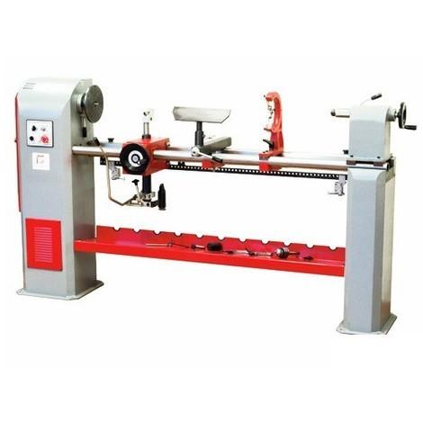 Tour à bois + copieur L. 1500 mm 400 V - 1100 W DBK1500-400V - Holzmann - -