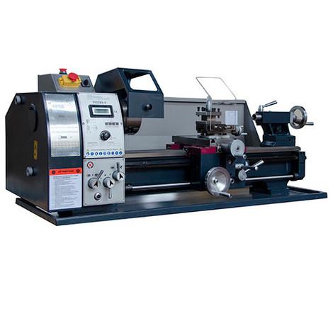Tour à métaux d'établi 550 mm avec variateur et affichage digital 230 V 750 W - JY250V-F-MONO - Métalprofi - -