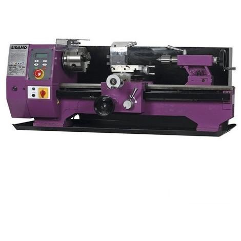 Tour à métaux TP 550 L. 550 mm - 230V 1000W - 21300015 - Sidamo - -