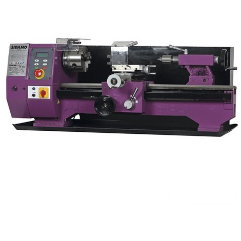 Tour à métaux TP 750 VISU L. 750 mm - 230V 1500W - 21300017 - Sidamo - -