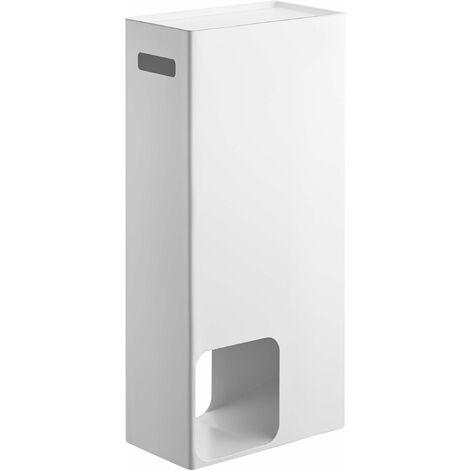 Tour de rangement papier toilette - Blanc