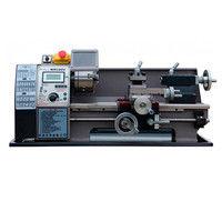 Tour métaux d'établi 300 mm avec variateur et affichage digital 230 V 600 W - WM180V-MONO - Métalprofi - -