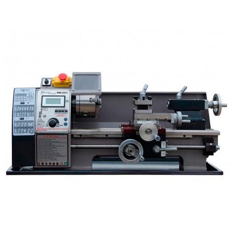 Tour métaux d'établi 400 mm avec variateur et affichage digital 230 V 600 W - WM210V-MONO - Métalprofi - -