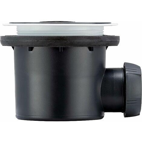 Tourbillon, bonde pour receveur design ou à carreler - bonde tourbillon horizonale - Wirquin Pro - 30722460