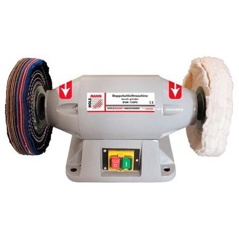 Touret à polir D. 150 mm 230 V - 520 W DSM150PS-230V - Holzmann - -
