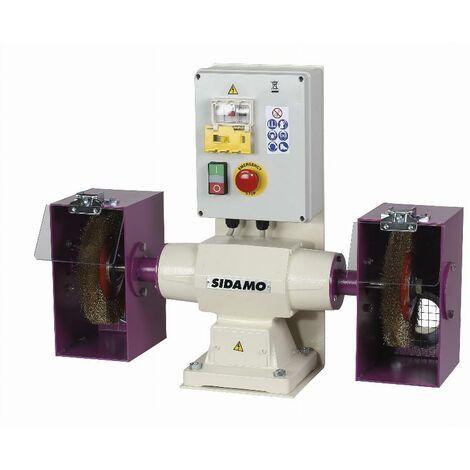Touret à polir SIDAMO 142 FR D.200 / 400 V TRI / - Avec frein - 20113037