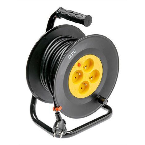 Touret enrouleur électrique 20m de cable