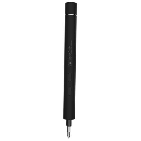 Tournevis electrique de precision de batterie au lithium Outil de reparation de demontage d'ordinateur portable Apple D2 gris