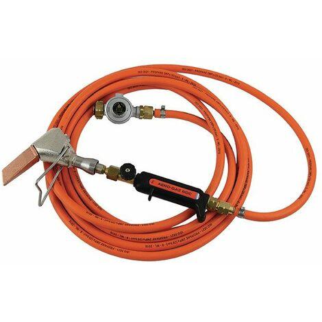 Toute la soudure - Kit couvreur zingueur avec tuyau propane 5m