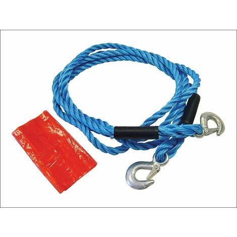 Tow Rope 4m Metal Hooks 2 Tonne (FAIAUTR2TON)