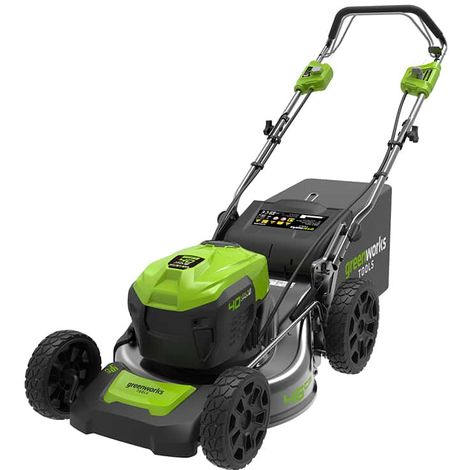 Towed mower GREENWORKS 40V - 46cm cut - Without battery or charger - GD40LM46SP