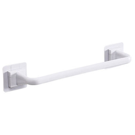 Towel Bar Bath Towel Clothes Hanger Nail-free Wall Mount Towel Rack Holder