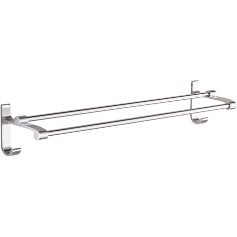 Towel Bar Bath Towel Clothes Hanger Wall Mount Towel Rack Holder