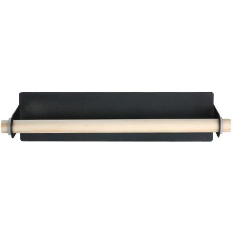 Towel Bar Self-adhesive Single Pole,Black