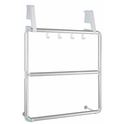 Towel holder for door and shower cubicle Compact WENKO