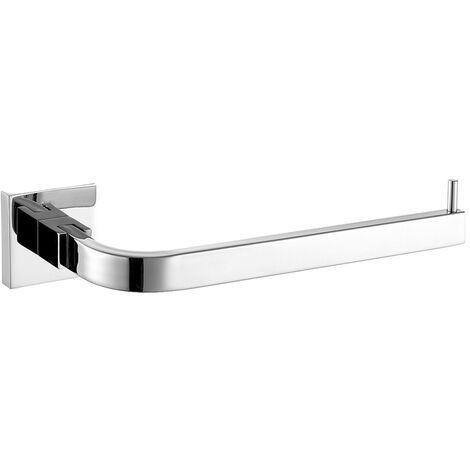 """main image of """"Towel Holder, Stainless Steel Wall Mounted Towel Rack for Bathroom (Chrome)"""""""