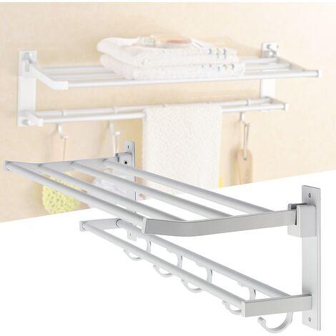 Towel Rack 5 Hook For Bathroom
