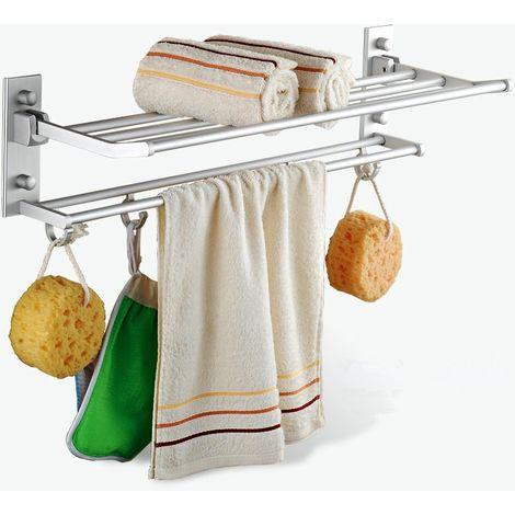 Towel Rack 5 Hook For Bathroom Hasaki