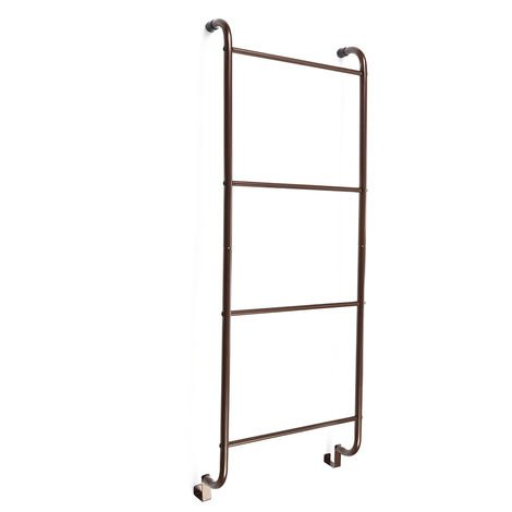 Towel Rack Hanging Door 4 Levels Without Drilling 40.5cm X14cm X112cm