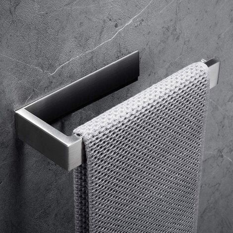 """main image of """"Towel ring Towel holder 304 Stainless steel brushed surface Towel holder without drilling Toilet accessories Bathrooms"""""""