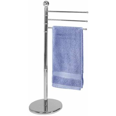 Towel Stand with 3 Arms chrome WENKO