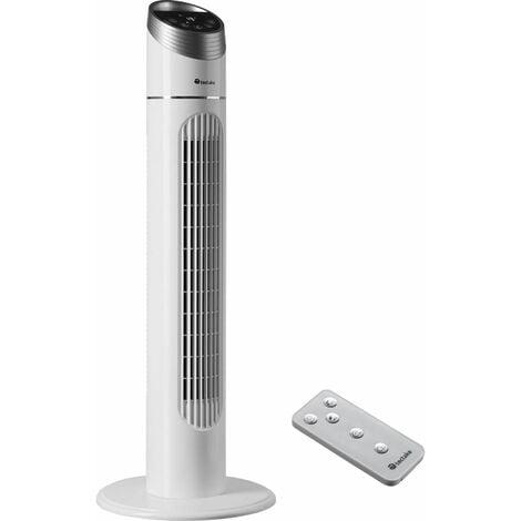 """main image of """"Tower fan 90cm - tall fan, floor standing fan, oscillating tower fan - white"""""""